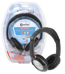 Syba Stereo Headphones with Built-In Microphone
