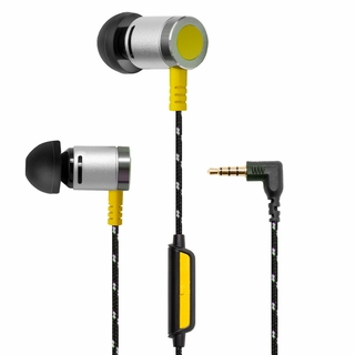 Syba SY-AUD63102 Art of Sound Woven Cable In-line Mic Earbuds