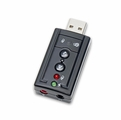 Syba USB Sound Card with 3.5mm I/O