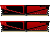 Team T-Force Vulcan 8GB (2 x 4GB) 288-Pin SDRAM DDR4 2400 (PC4 19200) Memory TLRED48G2400HC14DC01