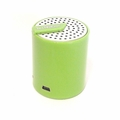 Tech & Go Splash Rechargeable Portable Speaker w/3.5mm Auxiliary Port (Green) - Retail