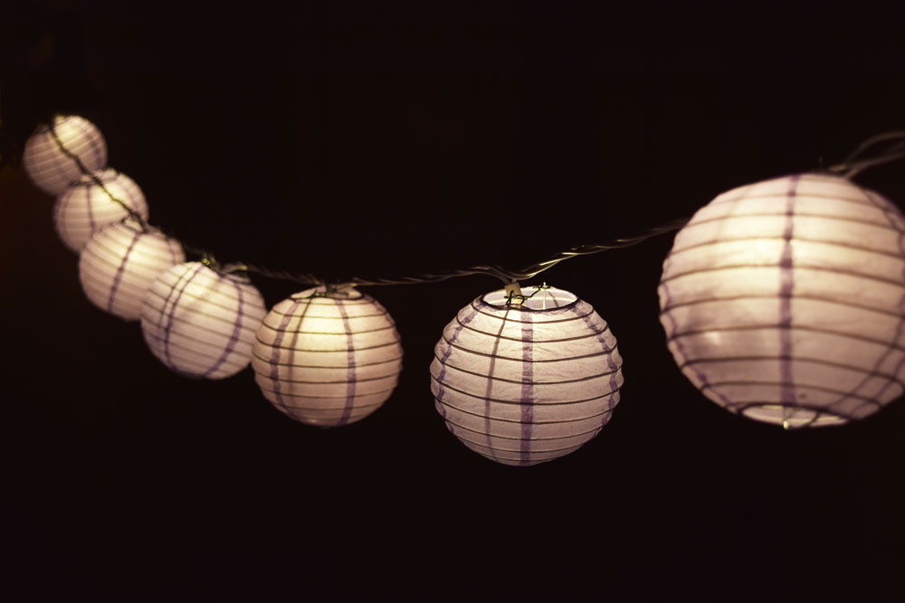 String Lights With Round Bulbs : 4