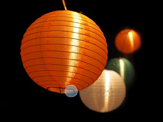 paper lanterns with lights 10 quot st s day lantern string light combo kit 30451