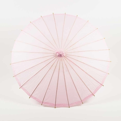 32 Inch Pink Paper Parasol Umbrellas On Sale Now Chinese