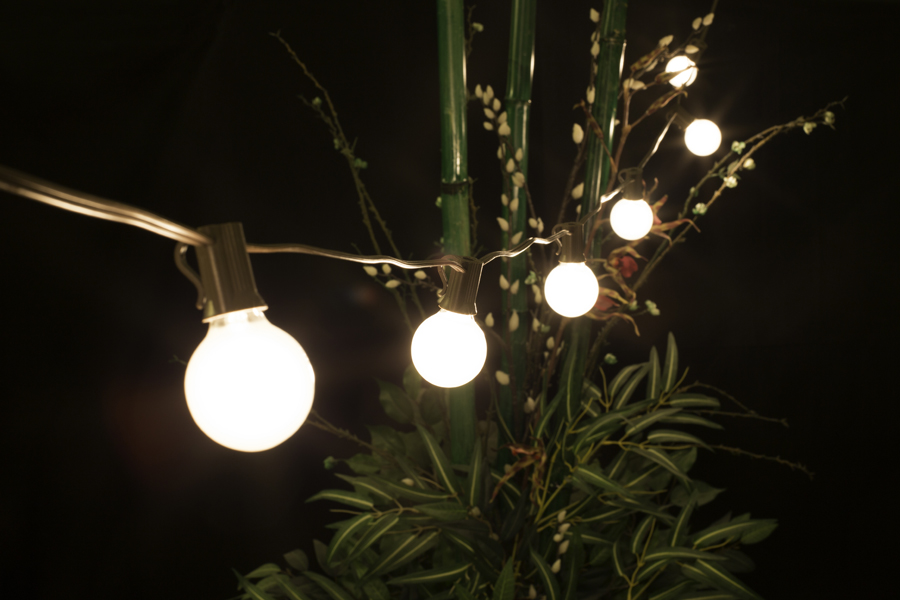 Globe String Lights White Cord : Globe Patio String Lights White Cord - Icamblog