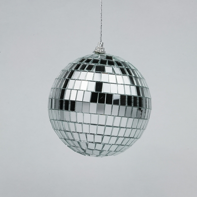 4 Inch Mini Silver Disco Mirror Ball For Dance Party On