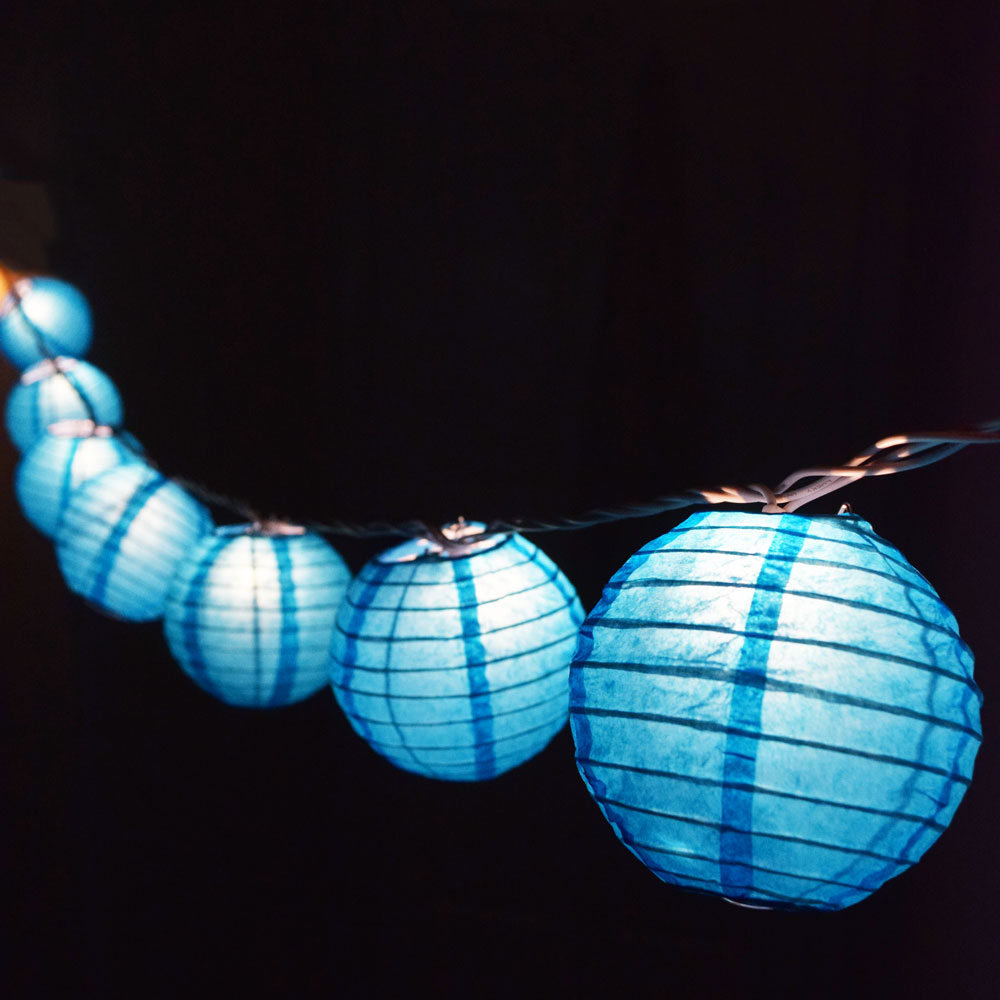 Paper Lantern String Lights Nz : 4