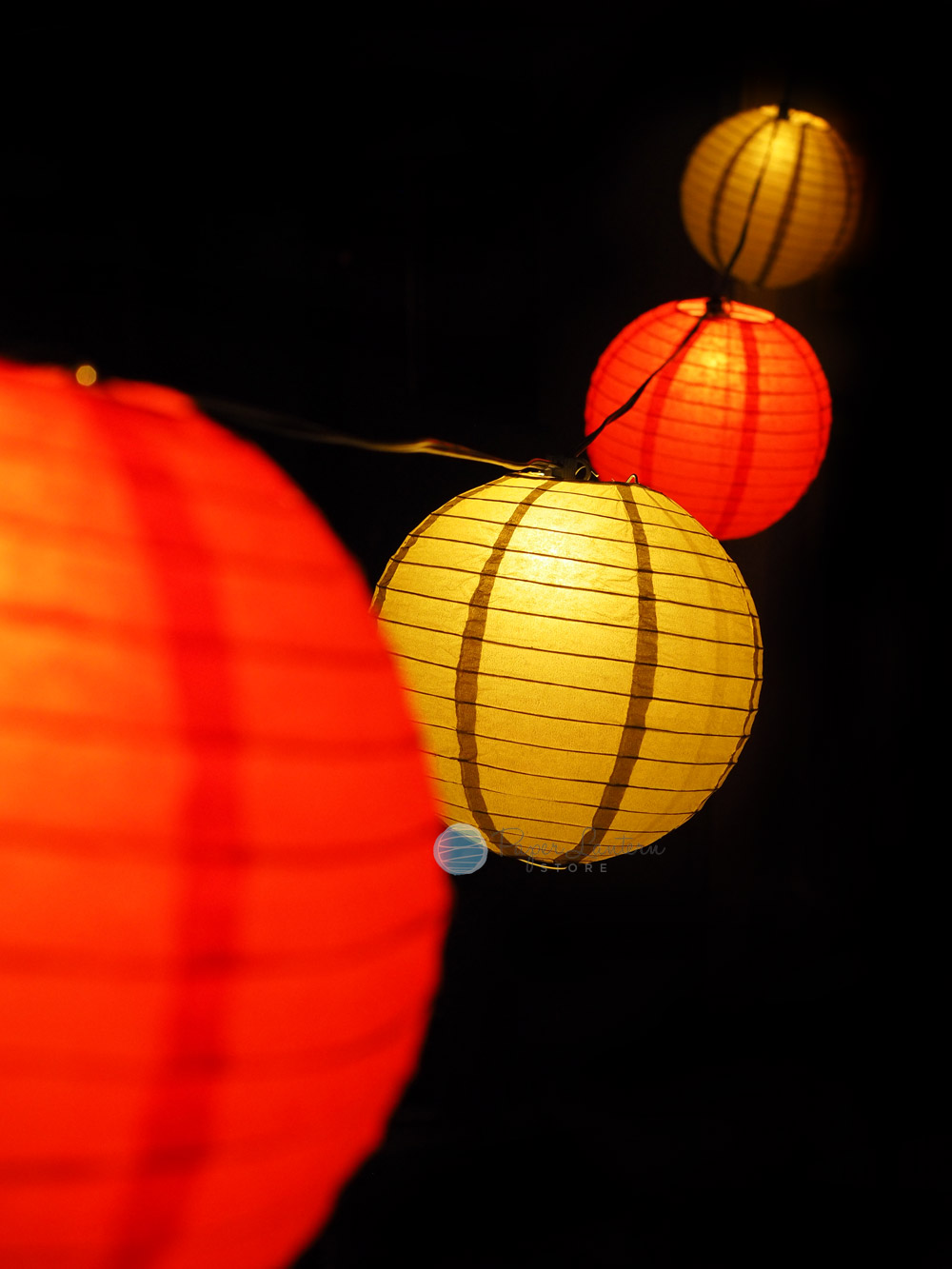 Chinese String Lights Paper Lantern : Chinese New Year Paper Lantern String Light Combo eBay