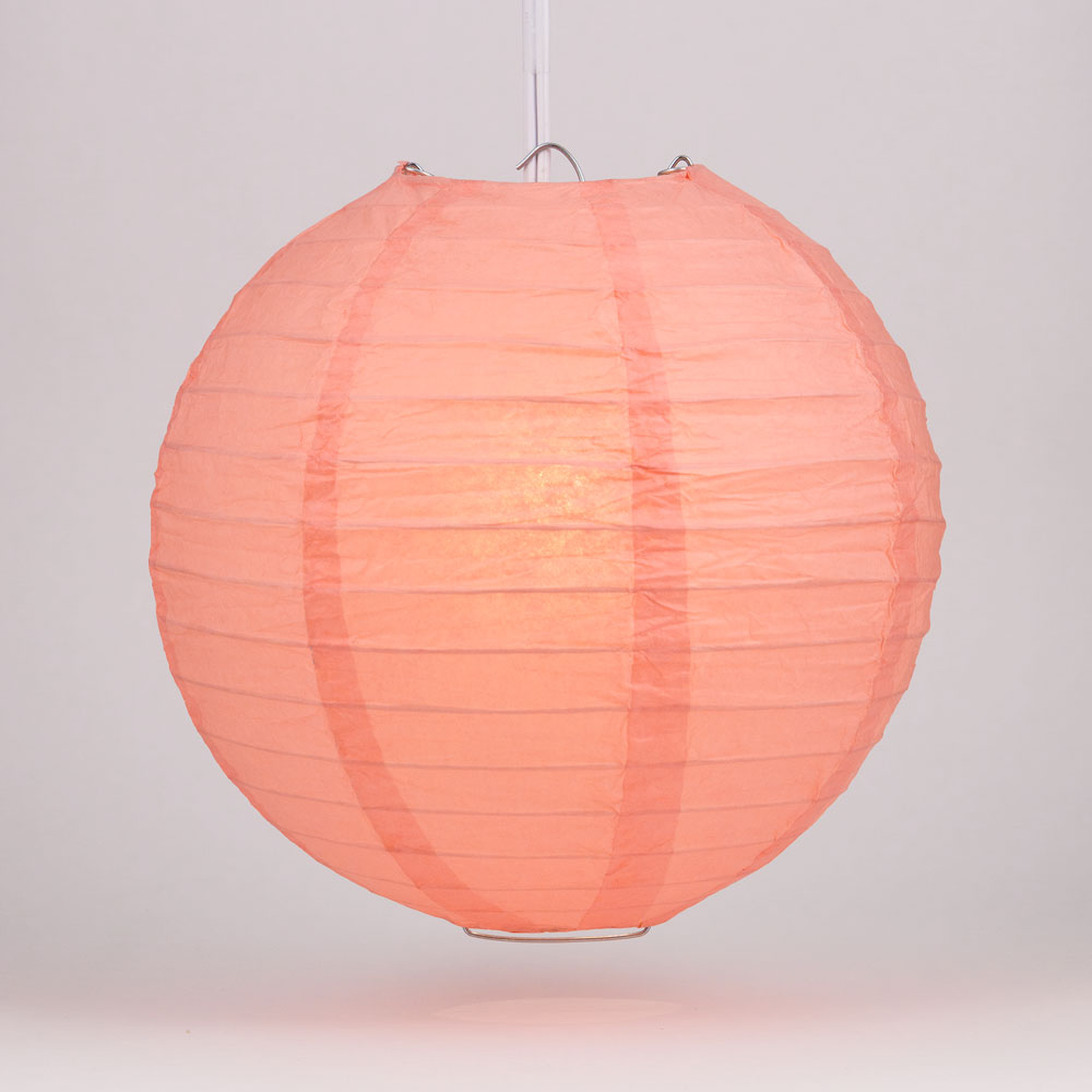 How to Make Paper Lanterns - Cute Round Oriental Style | 1000x1000