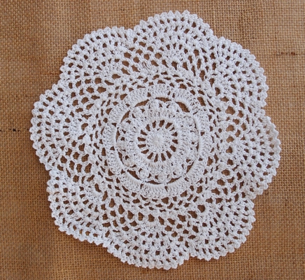 "75-12/"" White CAMBRIDGE PAPER LACE DOILIES for Wedding Chargers Placemats"