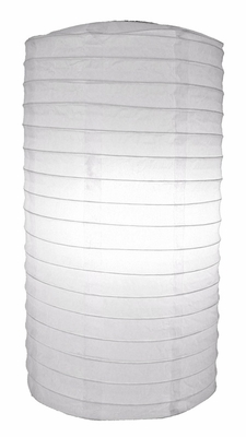 8 Quot White Cylinder Paper Lantern From Paperlanternstore At