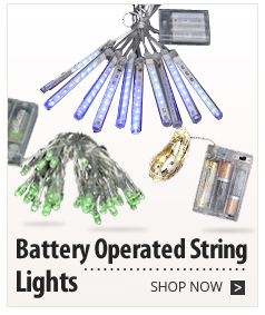Battery Operated String Lights In Bulk : String Lights, Rope Lights, Pendant, Globe Lights on Sale for Indoor and Outdoor Patios ...