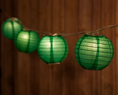 Blowout 3 5 Quot Forest Green Round Shaped Party String Lights From Paperlanternstore At The Best Bulk Wholesale Prices