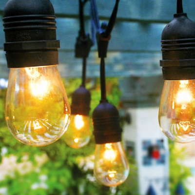 Commercial Grade Outdoor String Lights & Patio Lights