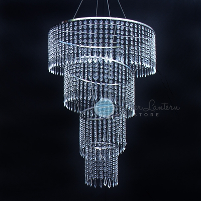 Designer Crystal Chandeliers For Weddings Events - Long chandelier crystals