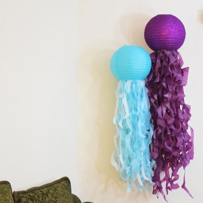 DIY Jellyfish Paper Lanterns