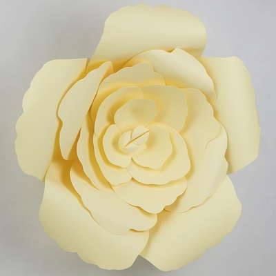 3D Pre-Made Giant Paper Flowers