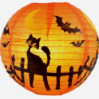 Halloween Paper Lanterns Party Lights Amp Decorations Now