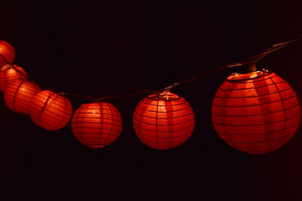 paper lanterns with lights how to assemble paper lantern string lights 30451