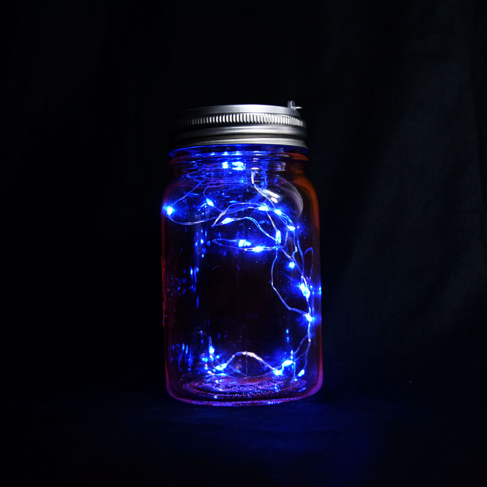 Led Mason Jar Lights Battery Powered For Regular Mouth