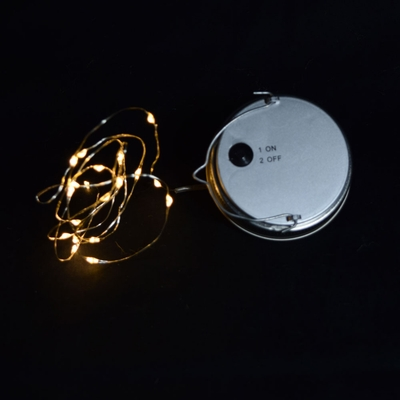 Moonbright Led Mason Jar Lights Battery Powered For Regular Mouth Warm White Lid Light Only On Sale Now Hanging Lantern Lights Cheap