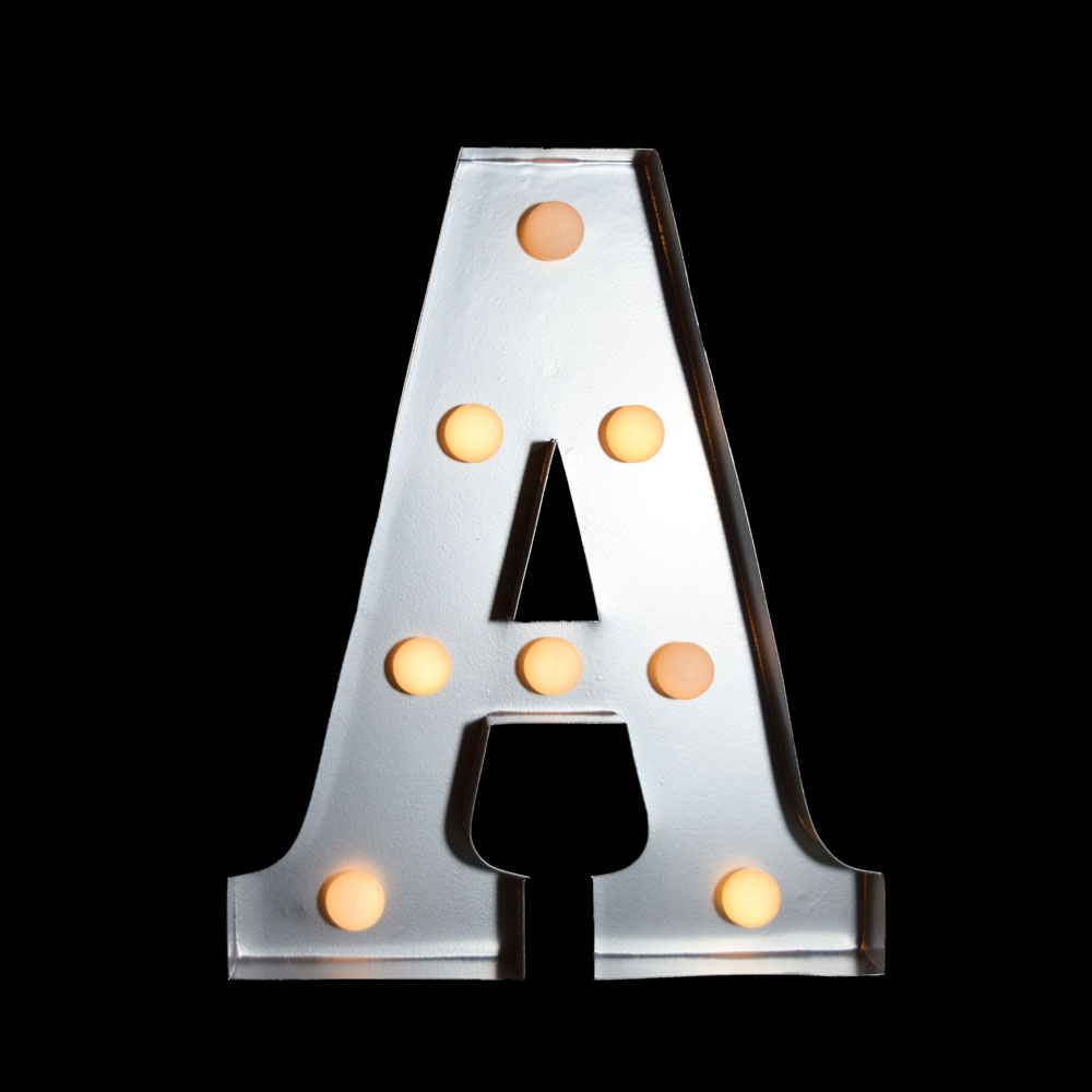 marquee light letter 39a39 led metal sign 10 inch battery With 10 inch marquee letters
