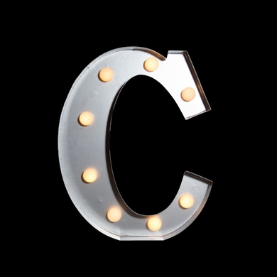 marquee light letter 39c39 led metal sign 10 inch battery With lighted marquee letters wholesale