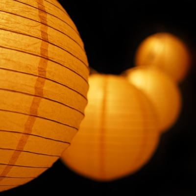 Paper Lantern String Lights Nz : MoonBright 12