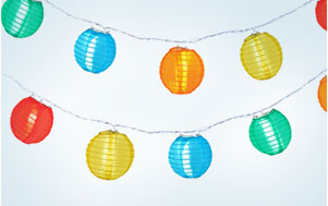 Led String Lights For Paper Lanterns : PaperLanternStore.com - Best prices on Paper Lanterns for Weddings Decorations, Party, Chinese ...