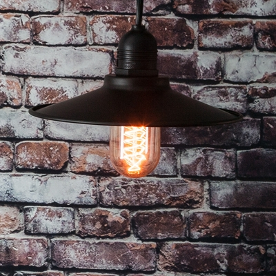 String Lights With Metal Shades : Classic Metal Patio Light Bulb Shade Cover for Outdoor Commercial String Lights, E26, Black on ...