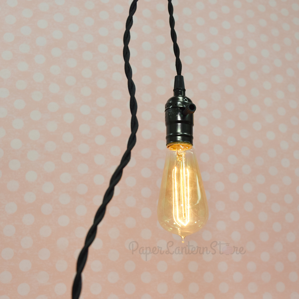 mercator lighting pendant with matt fabric white holt cord diy