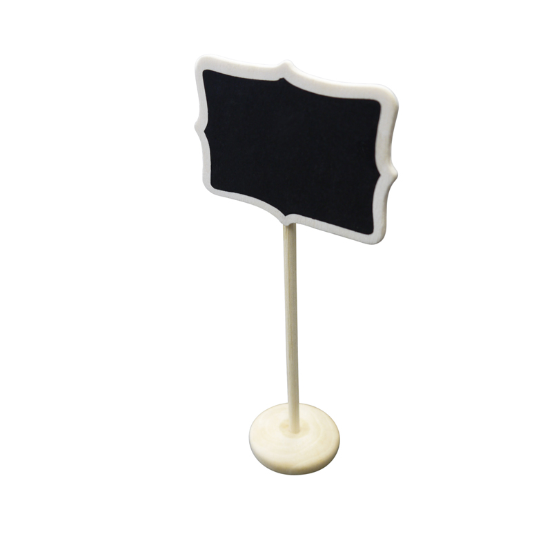 Large rectangular standing wedding chalkboard sign table for Table number holders