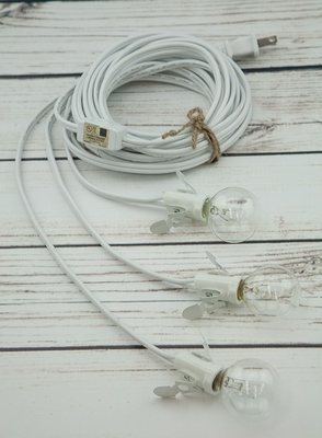 Star Lantern Triple Socket White Pendant Light Lamp Cord, 17 Ft, On Sale  Now!