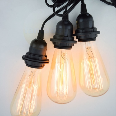 Triple Socket Pendant Light Cord Kit