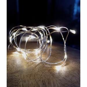 Fairy String Lights Submersible Waterproof Battery Pack Led Cool White : Warm White Wire Waterproof Lights