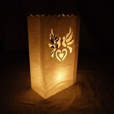 White Doves Paper Luminaries / Luminary Lantern Bags Path Lighting (10 PACK) on Sale now at PaperLanternStore.com & White Doves Paper Luminaries / Luminary Lantern Bags Path Lighting ... azcodes.com