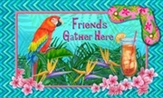 Friends Gather Here Floor Mat NO LONGER AVAILABLE