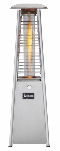 Ambiance Mini Propane Fire Feature Stainless Steel