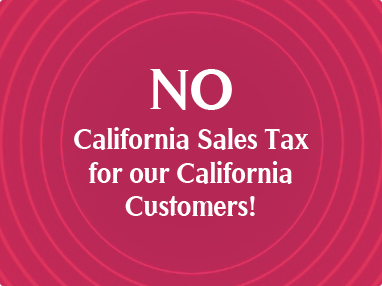 No California Sales Tax