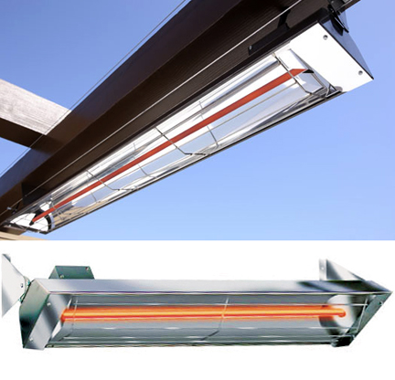 """Infratech W3000 61.25"""" Electric Radiant Outdoor Heater"""