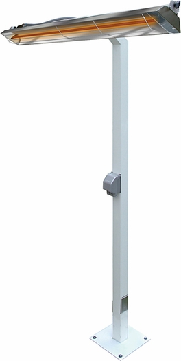 "Infratech Pole Mount 8 Ft. for 39"" Heaters"
