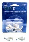 "Misting System 1/2"" Wood Mounting Clamps 10 Qty"