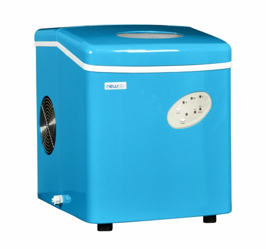 Portable Ice Maker in Cyan Blue by NewAir AI-100CB