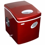 Portable Ice Maker in Red by NewAir AI-100R