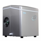 Portable Ice Maker in Silver Color by NewAir AI-100S