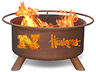 College Logo Fire Pits by Patina