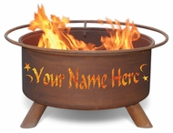 Patina Personalized Fire Pit F199