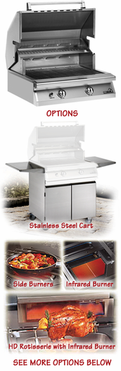 """PGS S27 Legacy Newport 30"""" Gas Grill Head"""