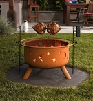 Sojoe Fire Pit Rotisserie RO32