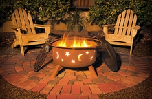Sojoe SM32 Star and Moon Fire Pit